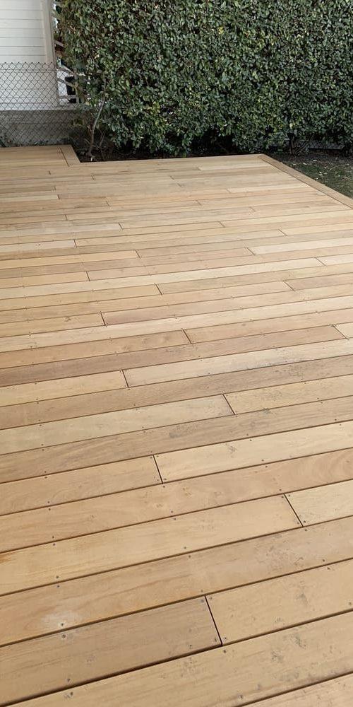 Créasol Auvergne - Terrasse extérieure bois à Clermont-Ferrand