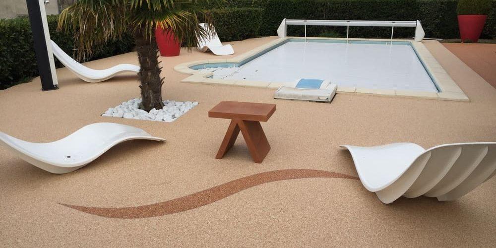 Créasol Auvergne - plages de piscines en résine à Clermont-Ferrand