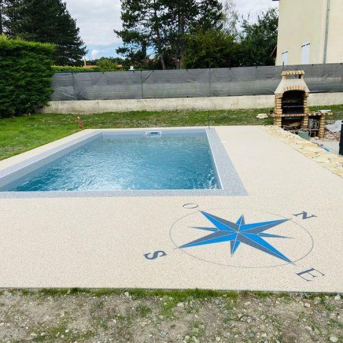 Créasol Auvergne - Plages de piscines en résine | Puy-de-Dôme