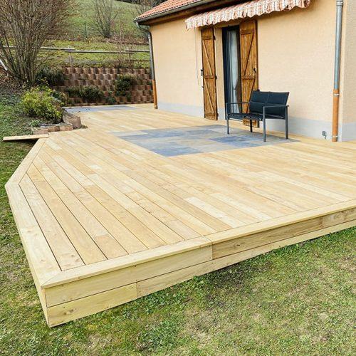 Créasol - Terrasse en bois à Clermont-Ferrand