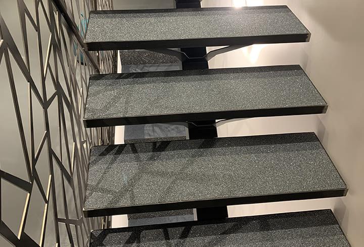 Escalier intérieur en résines - Créasol (63)