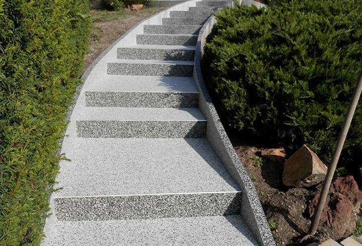 Escalier en résine - Créasol Auvergne